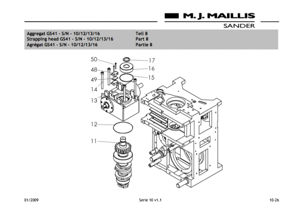 Gear with camshaft