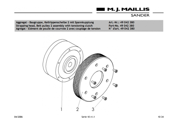 Powder magnetic-clutch Cl 20